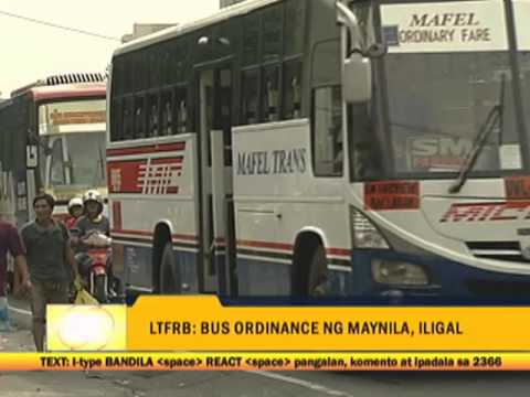 Manila bus ban is legal, Isko insists