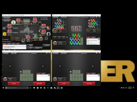 Jao Poker Live Cash Open Face Chinese multi tabling