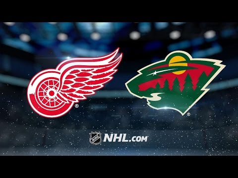 Parise, Coyle lead Wild to 6-3 win past Red Wings
