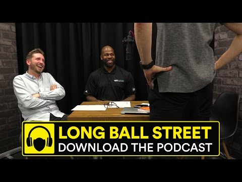 MICHAEL DUBERRY, DRESSING ROOM BANTER AND WILLIES | LONG BALL STREET PODCAST