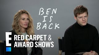 Lucas Hedges Explains the Challenges of Working With His Dad   E! Red Carpet & Award Shows