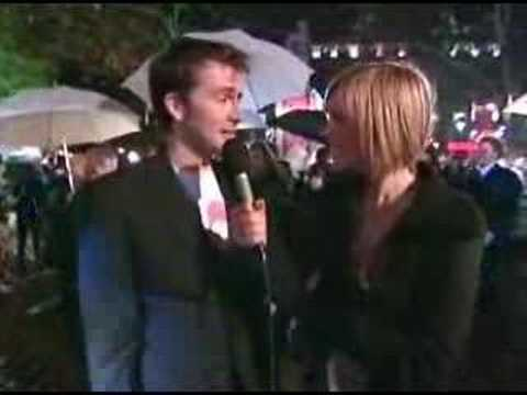 David Tennant Harry Potter Goblet of Fire Premiere