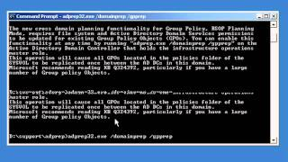 Preparing Active Directory for 2008 / 2008 R2