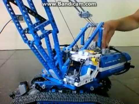 lego technic rupsband kraan 42042 youtube. Black Bedroom Furniture Sets. Home Design Ideas
