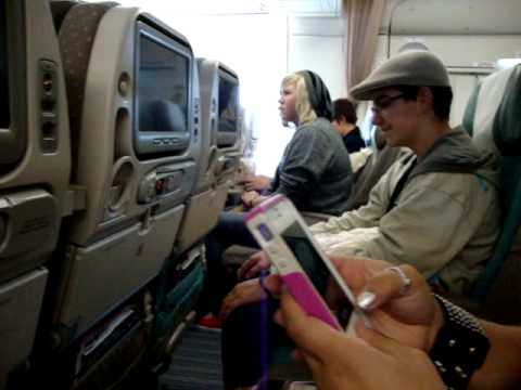 Our Flight to Japan :D