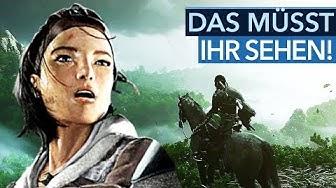 Bessere Grafik, neue Spiele & die letzte Open World der PS4 - Trailer-Rotation