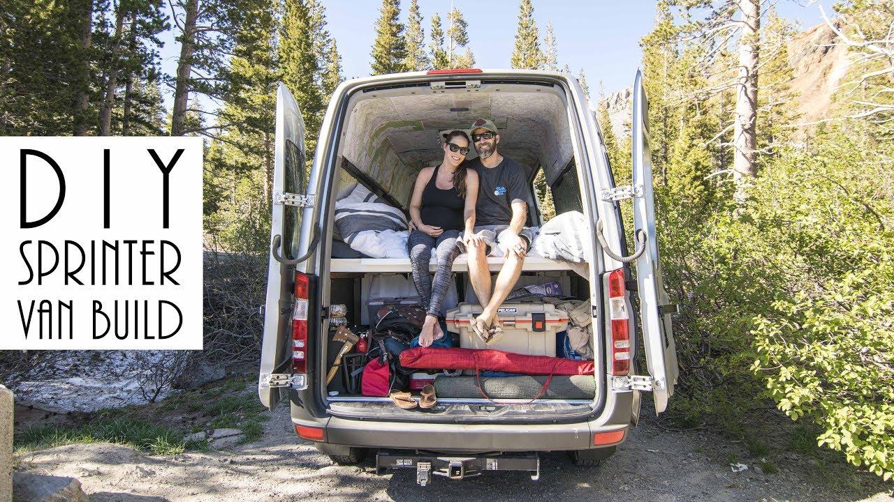 Van Life  DIY Sprinter Van Build  YouTube