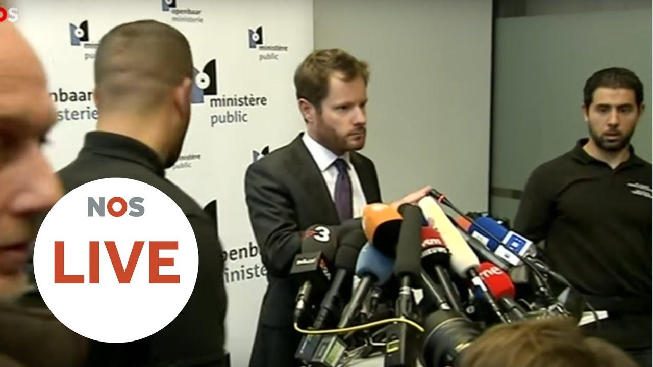 LIVE: Persconferentie Belgisch OM Over Puigdemont