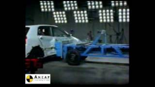 Toyota Corolla 2001 ANCAP Crash Test (4 stars)