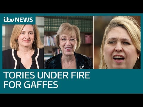 Three senior Tories criticised after making high-profile gaffes | ITV News