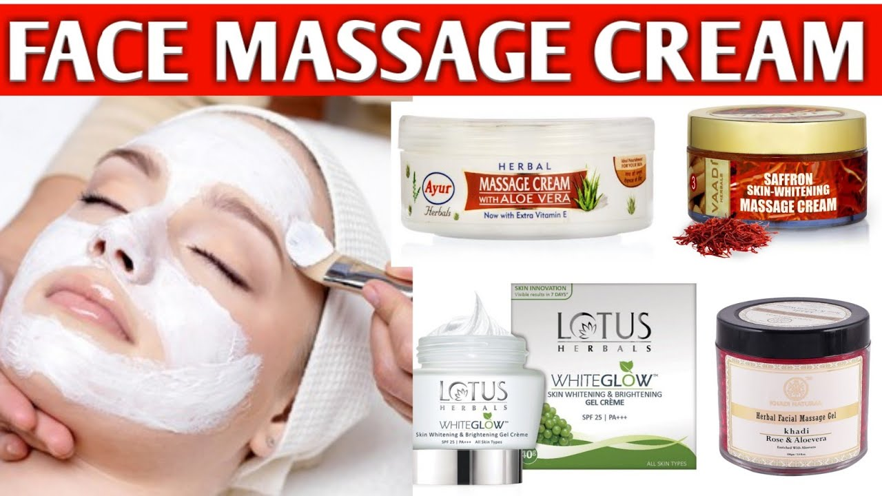 face massage cream for dry skin