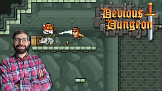 Devious Dungeon Review (Video Game Video Review)