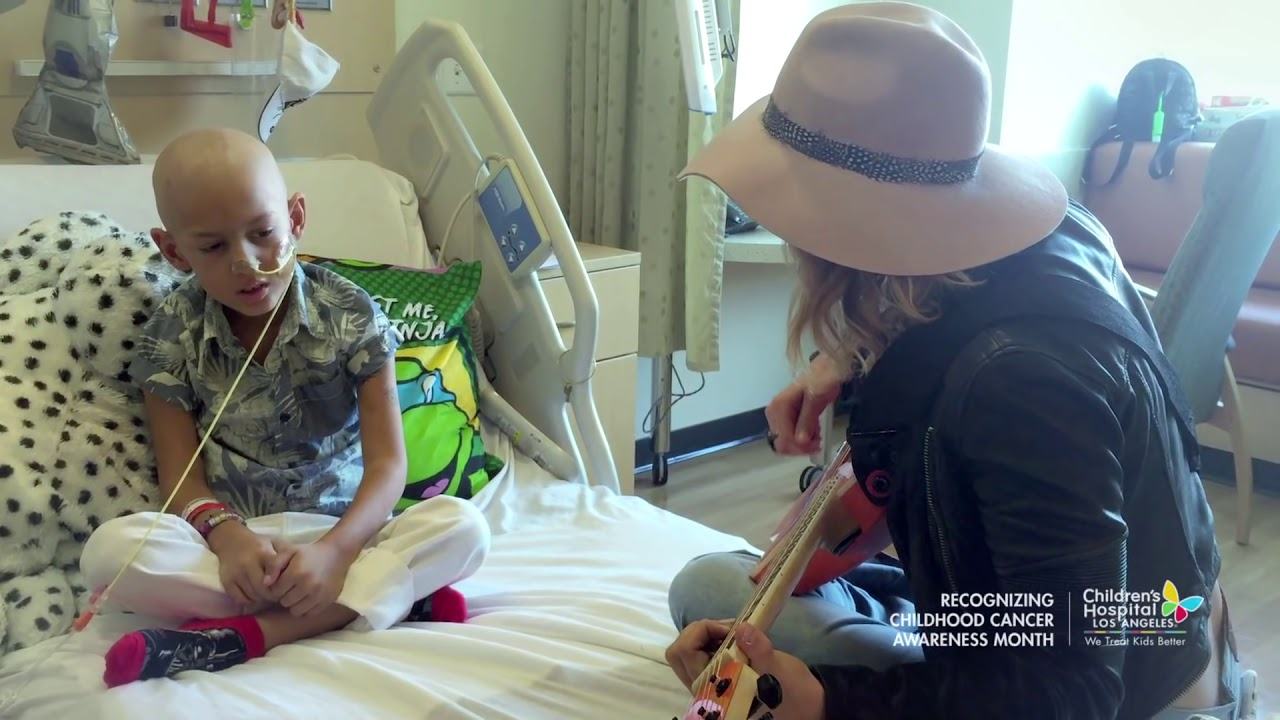 Cancer Patient Jeremiah Sings Fight Song Duet With Rachel Platten
