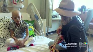 cancer patient jeremiah sings fight song duet with rachel platten full version