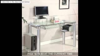 Innovex Saturn Desk, Clear
