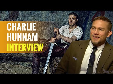 KING ARTHUR: LEGEND OF THE SWORD | Interview mit Charlie Hunnam