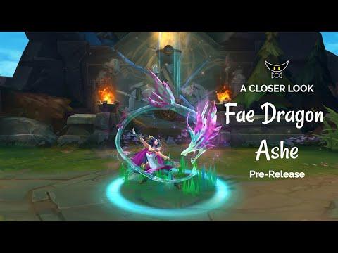 Fae Dragon Ashe Epic Skin (Pre-Release)