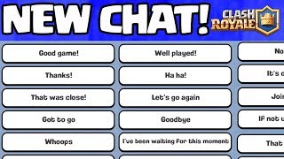 NEW PLAYER CHATS! Touchdown Undefeated! Clash Royale UPDATE