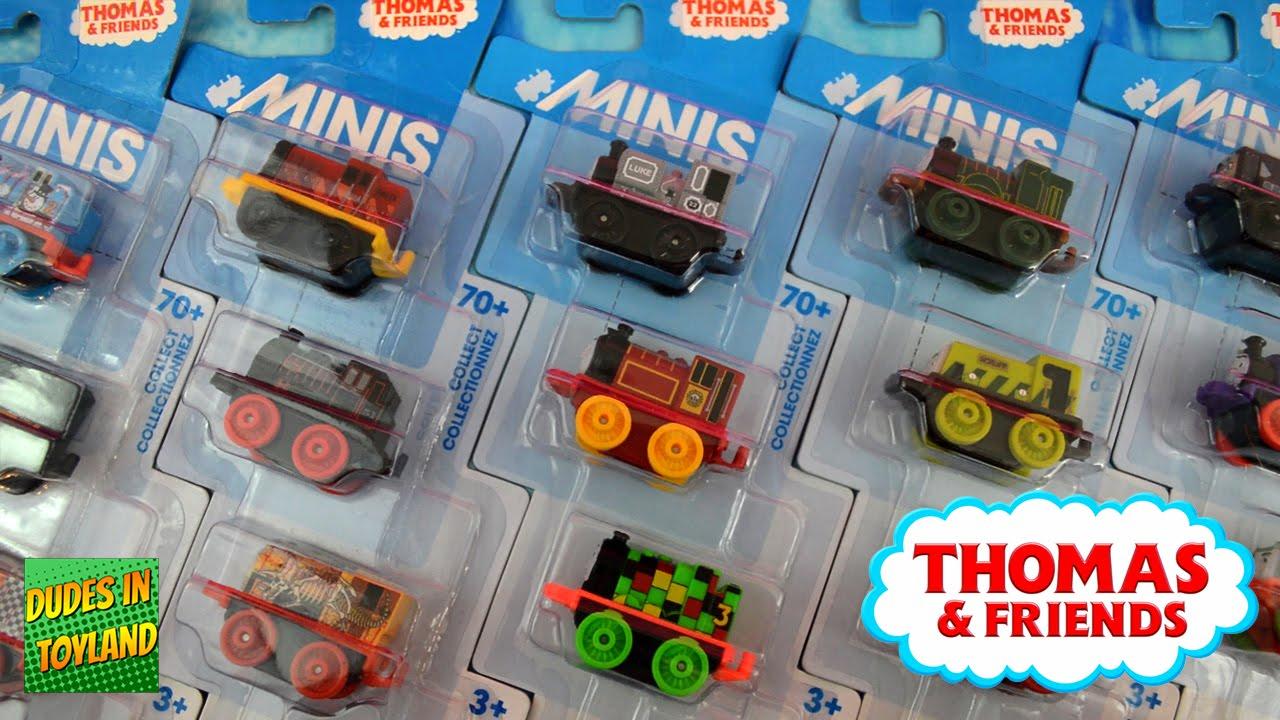 Thomas MINIS toys 3-packs! mini trains videos for children