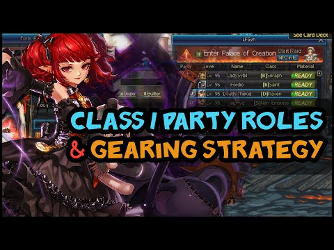 Dungeon Fighter Online - Class / Party Roles & Gearing Meta