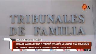 Denuncia que su ex esposa se llevó a su hija a Panamá y no la puede ver