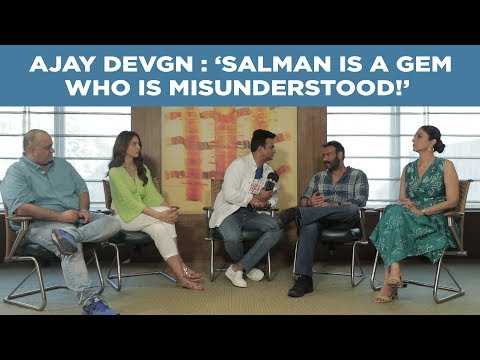 Ajay Devgn : 'Salman is a gem who is misunderstood!' #DeDePyaarDe Mp3