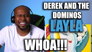 Awesome First Time Reaction To Derek and the Dominos - Layla