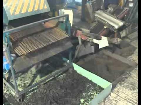 Мини завод по утилизации автомобильных шин