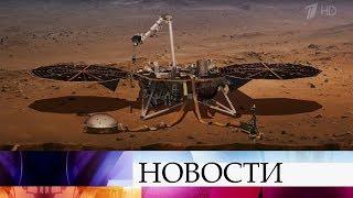 """Настоящее """"марсотрясение"""" на Красной планете впервые зафиксировали ученые."""