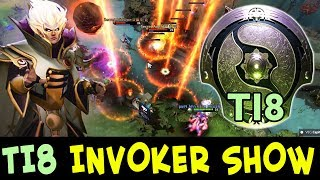 INVOKER SHOW on The International 2018 — Pain.w33 vs Secret.MidOne