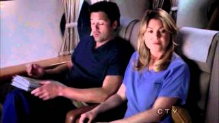 "Grey's Anatomy 8x23 ""Plane Crash - Ending Scene"""