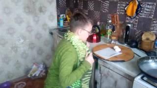 Дедушкины рецепты 1:яйца с колбасой.