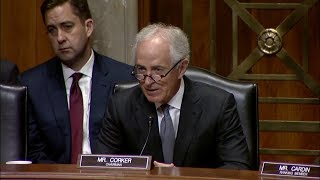 Corker Statement at Hearing on Authority to Order the Use of Nuclear Weapons
