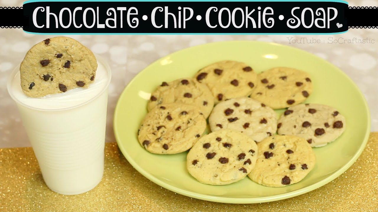 DIY COOKIE & MILK SOAP - Soap Making For Beginners | SoCraftastic