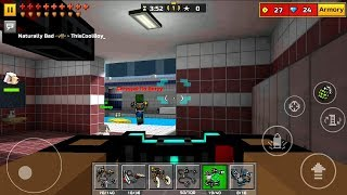Pixel Gun 3D Android Gameplay Pool Party