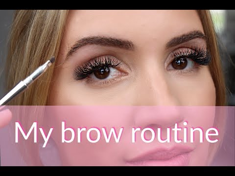 HOW TO SHAPE YOUR BROWS | MY BROW ROUTINE