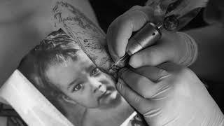 Татуировка фото ребенка | реализм