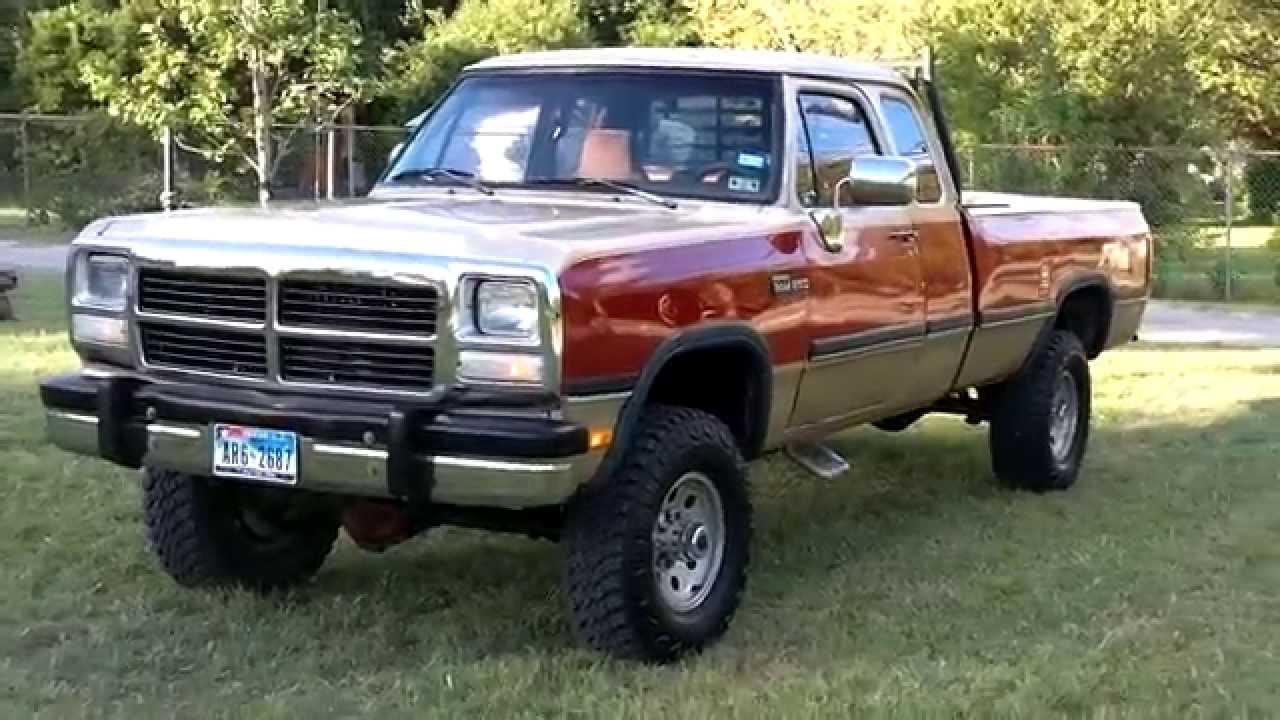 1993 dodge diesel mins - YouTube