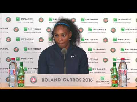 French Open 2016: Serena Williams FINAL Press Conference