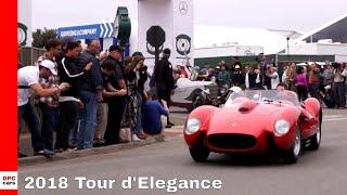 2018 Tour D'Elegance - Monterey Car Week