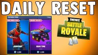 JUMP SHOT SKIN & TRIPLE THREAT SKIN - Fortnite Daily Reset & NEW Items in Item Shop