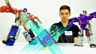 #Трансформеры: видео про игрушки. Гальватрон украл супермагнит! Фабрика Героев