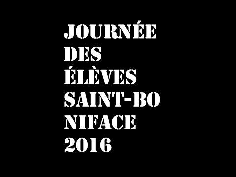 Journée des élèves Saint-boniface 2016