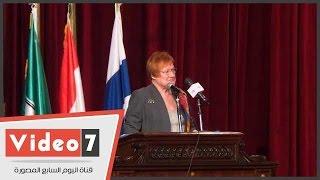 رئيسة فنلندا السابقة: مصر تسعى للتنمية المستدامة من خلال رؤية