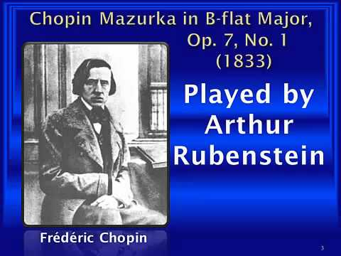 Frédéric Chopin : Mazurka in B-flat major, Op. 7, No. 1
