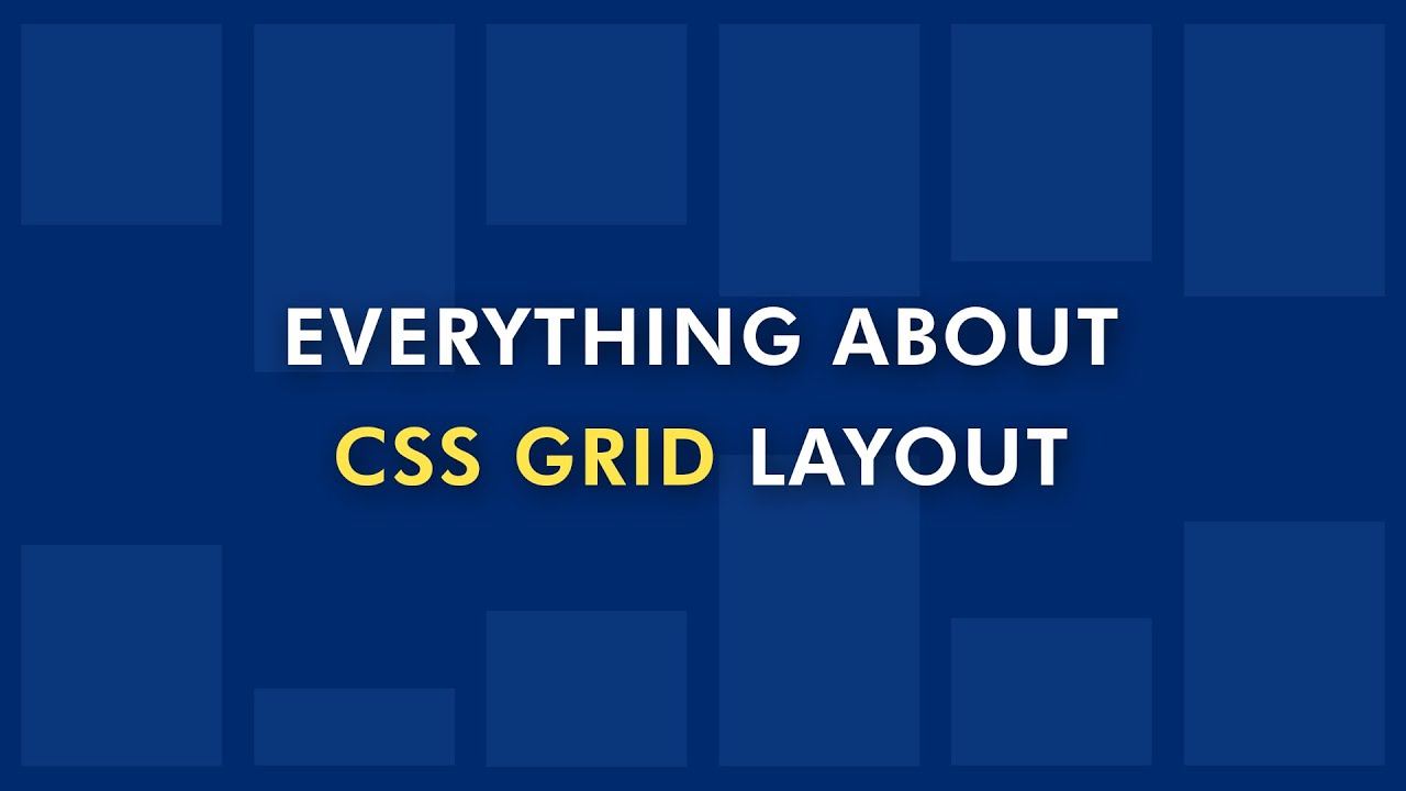 How To Create A CSS Grid | Build Responsive Website With CSS Grid Layout