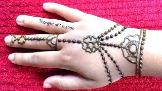 Easy Jewellery Mehndi Design for Kids |Easy Mehndi Design for Beginners