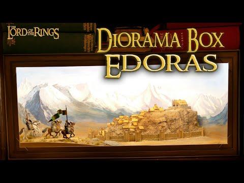 DIY/ The Lord of the Rings Diorama Box/ Edoras