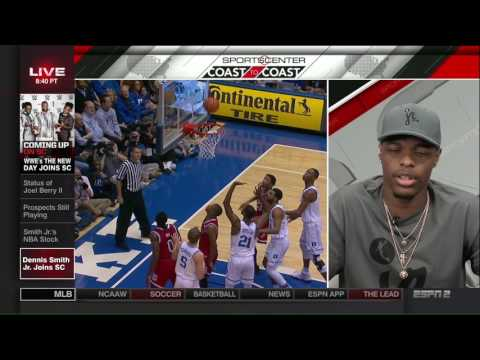 Dennis Smith Jr on SportsCenter