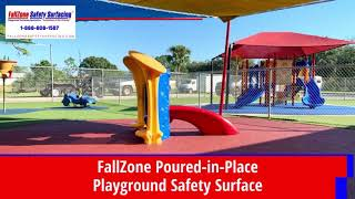 Playground Surfacing FallZone Poured-in-Place Rubber Playground Safety Surfaces Playground Flooring